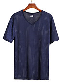 ieftine Maieu & Tricouri Bărbați-Bărbați Tricou Mată Decupată