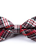 cheap Men's Ties & Bow Ties-Men's Party / Basic Bow Tie - Striped / Color Block / Plaid Bow