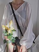 ieftine Salopete Damă-Pentru femei În V Bluză Ieșire Mată