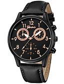 ieftine Quartz-Bărbați Pentru femei Ceas Elegant Ceas de Mână Quartz Cronograf Creative Model nou PU Bandă Analog Vintage Casual Negru / Maro / Pool - Auriu / Negru Negru / Alb Alb / Bej Un an Durată de Via