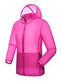 cheap Women's Coats & Trench Coats-Women's Hiking Raincoat / Hiking Windbreaker Outdoor Windproof, Rain-Proof, Breathability Jacket Single Slider Travel / Running / Jogging / UV Resistant