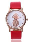 ieftine Ceasuri La Modă-Pentru femei Ceas Elegant Ceas de Mână Quartz Piele PU Matlasată Negru / Alb / Roșu Model nou Ceas Casual Analog femei Casual Modă - Rosu Verde Roz Un an Durată de Viaţă Baterie