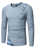 preiswerte Herren T-Shirts & Tank Tops-Herrn Einfarbig - Grundlegend T-shirt Druck