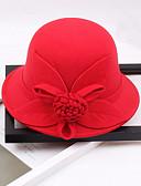 저렴한 파티 헤드피스-기타 자료 모자 와 꽃패턴 1 개 결혼식 / 파티 / 이브닝 투구