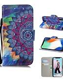 halpa iPhone näytönsuojat-Etui Käyttötarkoitus Apple iPhone XS / iPhone XR / iPhone XS Max Kuvio Suojakuori Mandala / Öljymaalaus / Kukka Kova PU-nahka