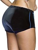 abordables Panties-ILPALADINO Mujer Shorts Inferiores de Ciclismo Bicicleta Pantalones Cortos Acolchados Almohadilla 3D, Secado rápido, Diseño Anatómico Un