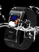 baratos Cintos Masculinos-Pulseira inteligente TF6 para Android iOS Bluetooth Esportivo Impermeável Monitor de Batimento Cardíaco Medição de Pressão Sanguínea Tela de toque Podômetro Aviso de Chamada Monitor de Atividade