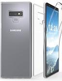 halpa Puhelimen kuoret-Etui Käyttötarkoitus Samsung Galaxy Note 9 / Note 8 / Note 5 Läpinäkyvä Suojakuori Yhtenäinen Pehmeä TPU