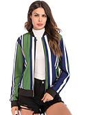 cheap Women's Blazers & Jackets-Women's Basic Jacket - Floral / Botanical