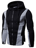 cheap Men's Hoodies & Sweatshirts-Men's Basic Hoodie - Geometric