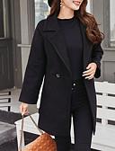 preiswerte Damen Daunenjacken & Parkas-lange Damenjacke - einfarbig
