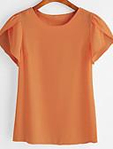 olcso Blúz-Vékony Női Póló - Egyszínű