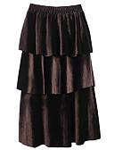 povoljno Ženske suknje-Žene A kroj Aktivan Suknje - Jednobojni
