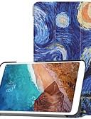 povoljno Maske za mobitele-Θήκη Za Xiaomi Xiaomi Tab 4 sa stalkom / Zaokret / Uzorak Korice Uljane slike Tvrdo PC