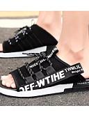 cheap Men's Pants & Shorts-Men's Comfort Shoes Denim Summer Slippers & Flip-Flops Black / Yellow / Red