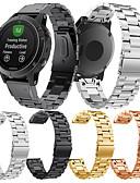 זול להקות Smartwatch-צפו בנד ל Fenix 5 / Fenix 5 Plus / Forerunner 935 Garmin פרפר באקל מתכת אל חלד רצועת יד לספורט