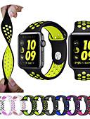 voordelige Smartwatch-banden-Horlogeband voor Apple Watch Series 4/3/2/1 Apple Sportband Silicone Polsband