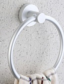 cheap Wedding Dresses-Towel Bar Creative / Multifunction Modern Aluminum 1pc towel ring Wall Mounted