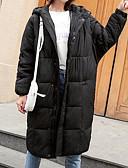 ieftine Costum Damă Două Bucăți-Pentru femei Zilnic Activ Mată Lung Căptușit, Poliester Manșon Lung Iarnă Capișon Negru / Roșu-aprins / Gri Închis M / L / XL
