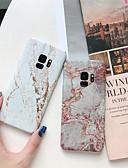 halpa Puhelimen kuoret-Etui Käyttötarkoitus Samsung Galaxy S9 / S9 Plus / S8 Plus Kuvio Takakuori Marble Kova PC