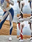 رخيصةأون ملابس ليلية نسائية-للمرأة مثير / بقع السراويل اليوغا - أسود, أحمر, أزرق رياضات بلوك ألوان سباندكس الجوارب الدراجات / طماق ركض, Fitness, الرقص ألبسة رياضية متنفس, ضغط, Push Up سيريتش نحيل سكيني