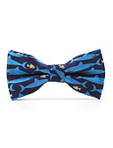 cheap Men's Ties & Bow Ties-Unisex Party / Basic Bow Tie - Print / Color Block Bow