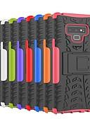 זול מגנים לטלפון-מגן עבור Samsung Galaxy Note 9 / Note 8 עמיד בזעזועים / עם מעמד כיסוי אחורי אריח / שִׁריוֹן קשיח PC