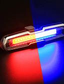 お買い得  メンズフーディー&スウェットシャツ-LED 自転車用ライト 後部バイク光 安全ライト テールランプ マウンテンサイクリング サイクリング 防水 カラーグラデーション 充電式リチウムイオン電池 150 lm 変更 サイクリング