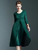 זול תחרה רומטנית-עד הברך שמלה נדן סגנון רחוב בגדי ריקוד נשים