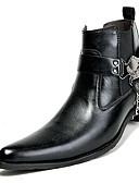 olcso Férfi dzsekik és kabátok-Férfi Fashion Boots Szintetikus Tél Alkalmi / Brit Csizmák Melegen tartani Magas szárú csizmák Fekete