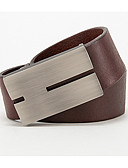 cheap Men's Belt-men's basic alloy waist belt