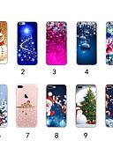 halpa iPhone kotelot-Etui Käyttötarkoitus Apple iPhone XS / iPhone XR / iPhone XS Max Ultraohut / Läpinäkyvä / Kuvio Takakuori Joulu Pehmeä TPU