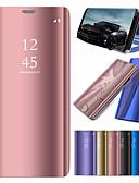 preiswerte Hochzeitsschirme-case für apple iphone xr xs xs max mit stand / plating / mirror fällen einfarbig harter pc für iphone x 8 8 plus 7 7plus 6s 6s plus se 5 5s