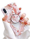 povoljno iPhone maske-Θήκη Za Apple iPhone XS / iPhone XR / iPhone XS Max sa stalkom / IMD / Mutno Stražnja maska Mramor Mekano TPU