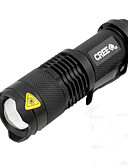 abordables Maillots Ciclismo-LED Luces para bicicleta Luz Frontal para Bicicleta LED Ciclismo Impermeable Portátil LED AA / 14500 450 lm AA Blanco Camping / Senderismo / Cuevas De Uso Diario Ciclismo / IPX-5