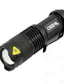 tanie Stroje rowerowe-LED Światła rowerowe Światła przednie LED Kolarstwo Wodoodporny Przenośny LED AA / 14500 450 lm AA Biały Kemping / turystyka / eksploracja jaskiń Do użytku codziennego Kolarstwo / Rower / IPX-5