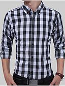 preiswerte Herrenhemden-Herrn Verziert - Grundlegend Hemd