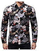 abordables Camisas de Hombre-Hombre Negocios Camisa Floral