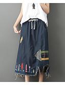 ieftine Pantaloni de Damă-fuste de damă midi femei - geometrice / solid colorate