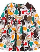 זול שמלות לבנות-Samgami Baby דפוס חיצוני מחנאות ל סתיו קשת / כותנה / עד הברך / פרחוני / פעיל / חיה
