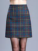 tanie Damska spódnica-kobiety wychodzą plus rozmiar powyżej kolana spódnice - sprawdź
