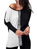 povoljno Haljine za NG-Majica s rukavima Žene - Ulični šik Dnevno Color block
