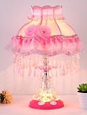 halpa Printtimekot-Moderni / nykyaikainen Uusi malli / Ihana Pöytälamppu Käyttötarkoitus Tyttöjen huone Lasi 220V Punastuvan vaaleanpunainen