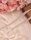 hesapli Parti Çorapları-Saten / Tül Düğün / Özel Anlar Kuşak İle İmistasyon İnci Kadın's Kuşaklar