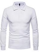 olcso Férfi pólók-Alap Férfi Polo - Egyszínű