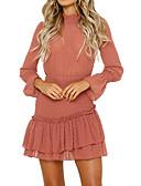 זול שמלות נשים-שמלת נשף רזה לנשים מעל הברך עומדת