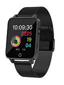 זול להקות Smartwatch-BoZhuo X9 יוניסקס Smart צמיד Android iOS Blootooth ספורטיבי עמיד במים מוניטור קצב לב כלוריות שנשרפו מעקב אימון מד צעדים מזכיר שיחות מעקב שינה תזכורת בישיבה מצאו את המכשירשלי / Alarm Clock