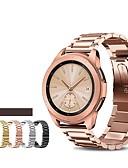 זול להקות Smartwatch-צפו בנד ל Samsung Galaxy Watch 46 Samsung Galaxy רצועת ספורט מתכת אל חלד רצועת יד לספורט