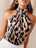 halpa Pusero-Naisten Niskalenkki Ohut Leopardi Pusero