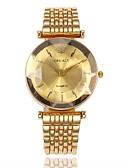 ieftine Ceasuri La Modă-Pentru femei Ceas Elegant Ceas de Mână Quartz Oțel inoxidabil Auriu Ceas Casual Analog femei Modă Elegant - Mov Verde Albastru